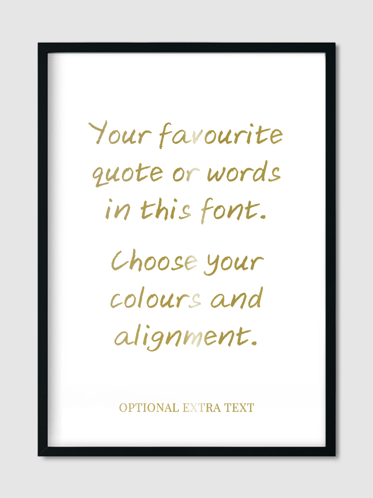 custom-quote-goes-here-wall-art-print-gold-foil-11