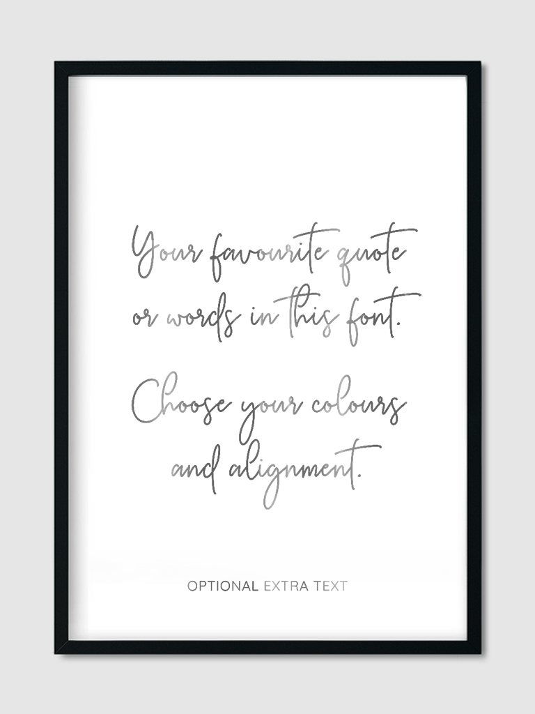 custom-quote-goes-here-wall-art-print-silver-foil-6