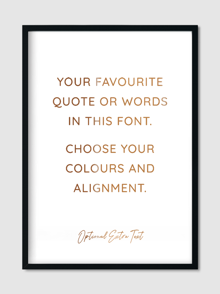 custom-quote-goes-here-wall-art-print-copper-foil-7